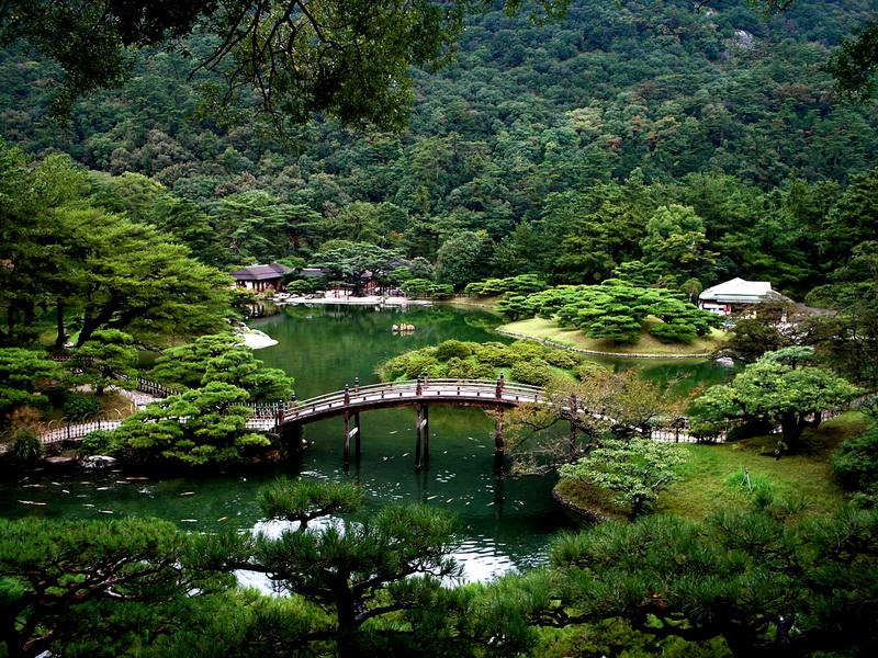Япония летом