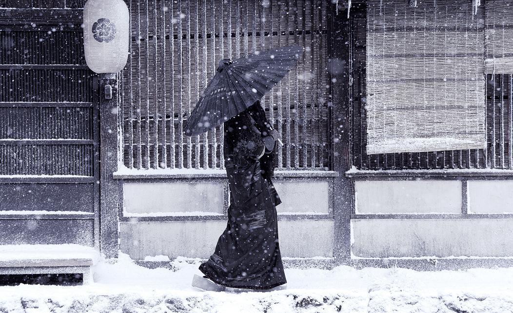 Япония зимой