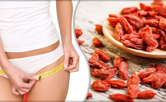 Ягоды годжи в борьбе с лишним весом