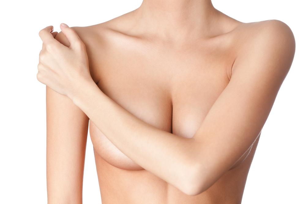Как убрать растяжки на груди?