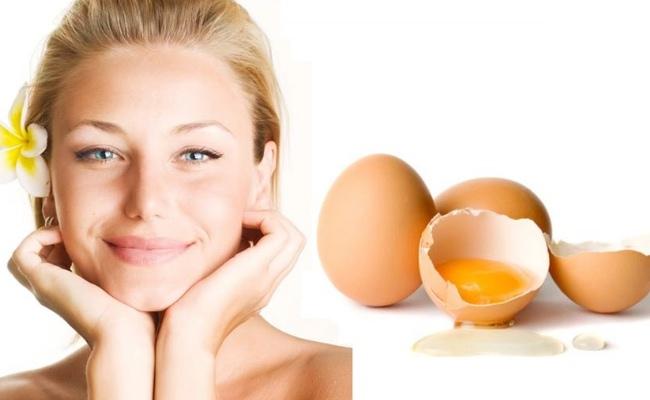 Маска для лица из яиц