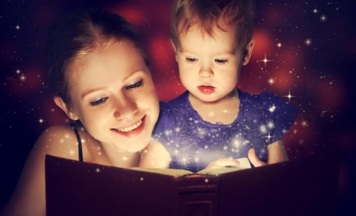 чтение сказок ребенку
