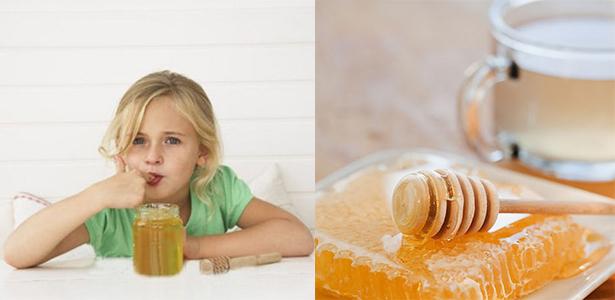 польза мёда для детей
