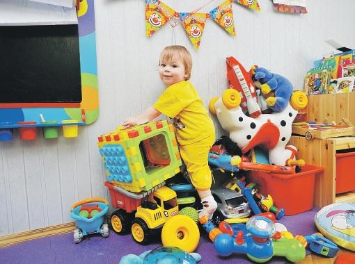 у ребенка много игрушек